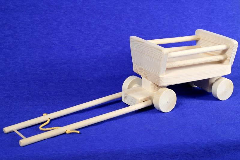 Как сделать игрушечную телегу для лошади своими руками