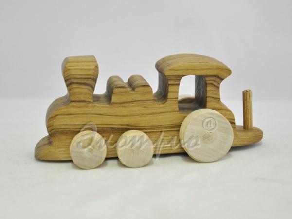 Как сделать паровоз из дерева картинки