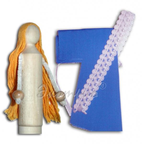 Кукла народная (с кроем) 180 руб.