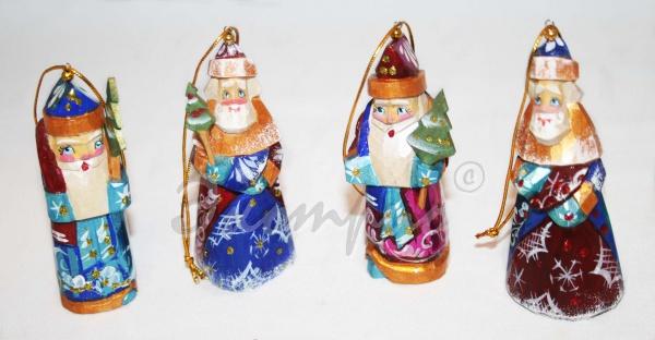 Дед мороз из ложек своими руками