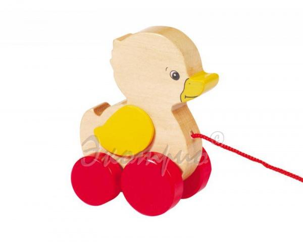Шагающая игрушка из дерева