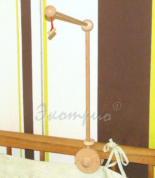 Кронштейн сделанный своими руками для кроватки