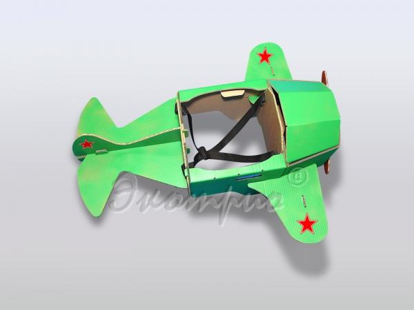 Как сделать игрушечный самолёт